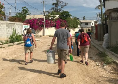 HaitiWalkingPfamilyMission