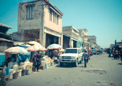 Old Haiti Buildings